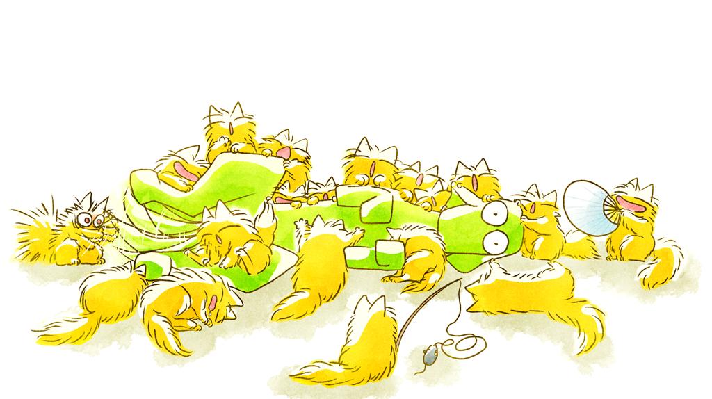 わんこと猫いっぱい