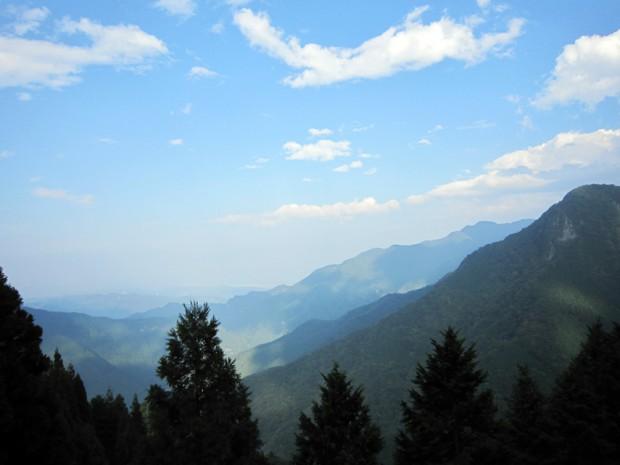 遥拝殿から見た風景 2