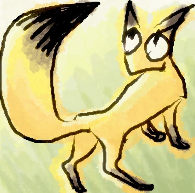きつね fox